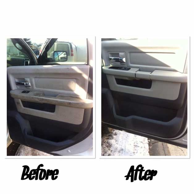 Before and After - Upholstery